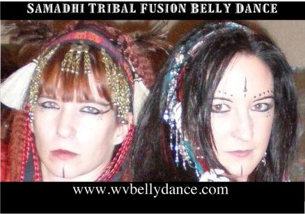 Shelah and Amira of Samadhi Tribal Fusion Belly Dance in Charleston WV